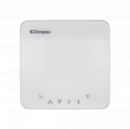Front view of the Dimplex Hub heating controller